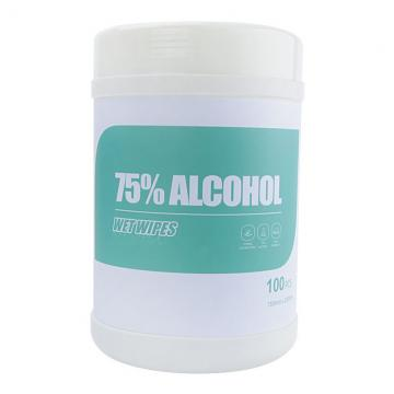 75% alcohol wipes CE certified adult disinfection wipes