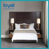 Customization Antique Style Classic Wooden Stainless Steel Hotel Fixing Furniture for Standard Room